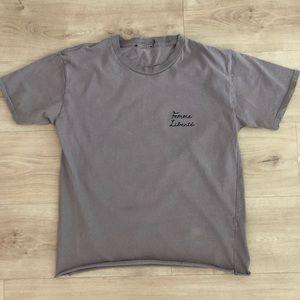 Top Shop Femme Liberte T Shirt